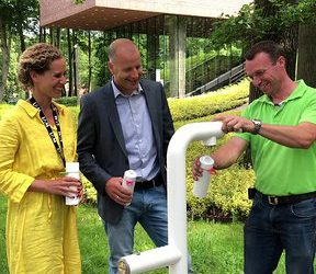 Join the Pipe! Watertappunt bij het LAM