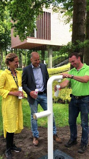 Join the Pipe! Watertappunt bij het LAM